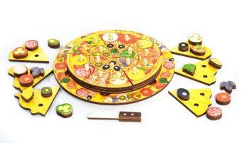 Развивающая игрушка Пицца