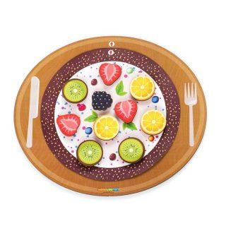 Развивающая игрушка Юный кондитер, Пицца, Пирог,Торт