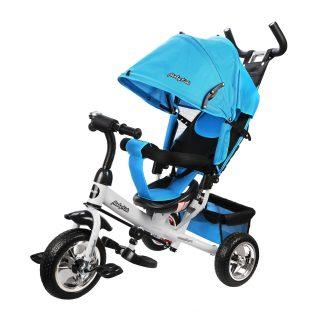 Велосипед 3кол. Comfort 10x8 EVA, голубой