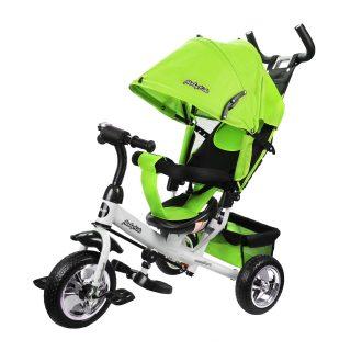 Велосипед 3кол. Comfort 10x8 EVA, зеленый