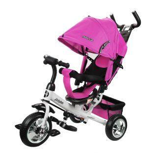 Велосипед 3кол. Comfort 10x8 EVA, розовый