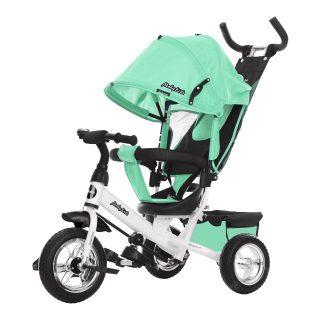 Велосипед 3кол. Comfort 10x8 EVA, салатовый