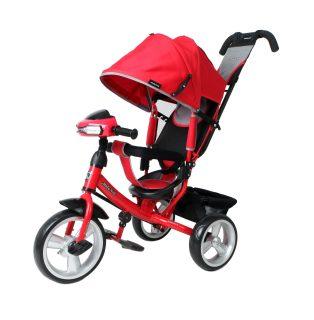 Велосипед 3кол. Comfort 12x10 EVA Car, красн.