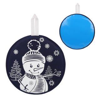 Ледянка с принтом 40,5 см, синяя