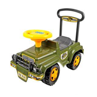 Автомобиль-каталка Джип (муз.руль)