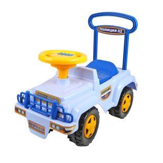Автомобиль-каталка Полиция (муз. руль)