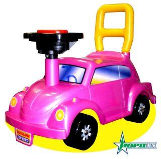 Машина каталка Go! Розовое чудо