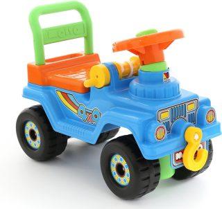 Машина-каталка Джип 4х4 №2 (голубой)