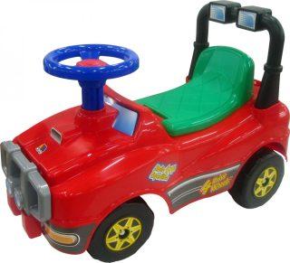 Машина-каталка Джип №2 (красный)