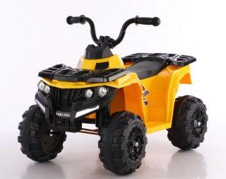 Квадроцикл черно-желтый 6V4.5AH, 20W, передние фары