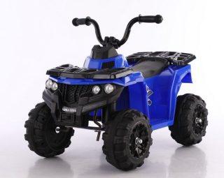 Квадроцикл черно-синий 6V4.5AH, 20W, передние фары