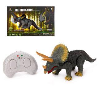 Динозавр р/у, 2 канала, свет, звук, ИК пульт-заряд.устройство, встроен.аккум., эл.пит.3*AAA не вх.в комплект