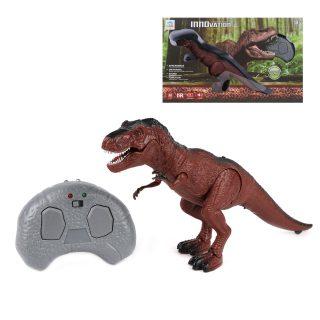 Динозавр р/у, 2 канала, свет, звук, ИК пульт-заряд.устройство, встроен.аккум.2,4V, эл.пит.3*AAA не вх.в комплект