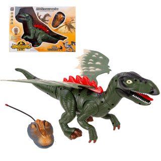 Динозавр р/у, 2 канала, свет, звук, эл.пит. АА*5шт. не вх.в комплект