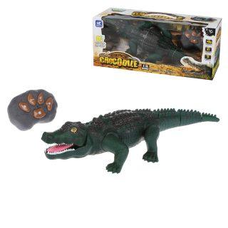 Крокодил р/у 4 канала, свет, звук, эл.пит.АА*5 не вх.в компл., кор.