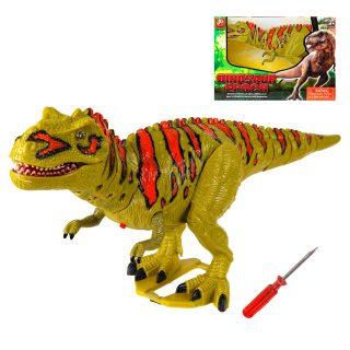 Динозавр эл., свет, звук, эл.пит.АА*2шт.не вх.в комплект, коробка
