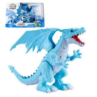 Игрушка Робо-Дракон RoboAlive(Лед), свет., звук. эффекты,  3 *1,5vAАA бат (в компл не входят) 50*30,5*15 см