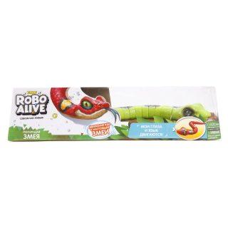 Игрушка Робо-змея зеленая