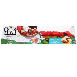 Игрушка Робо-змея красная