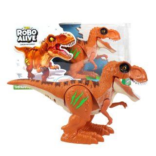Игрушка Робо-Тираннозавр, оранжевый