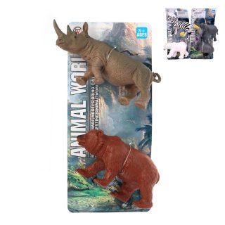 Набор диких животных, 2 шт., в ассортименте