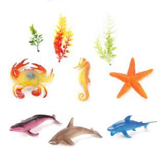 Набор морских животных, 12-16см, 6шт.