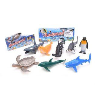 Набор морских животных, 8 шт., пакет