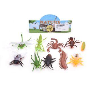 Набор насекомых 10 шт., пакет