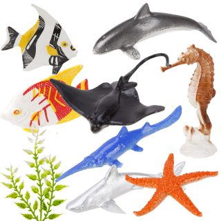 Набор фигурок Морской мир, 8 шт., пакет