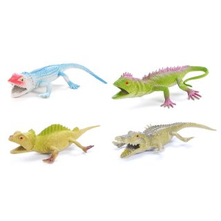 Набор фигурок Рептилии, 10 см, 4 шт., пакет