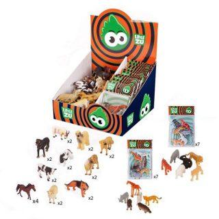 Домашние животные, собаки, наборы Диких животных, 36шт., диспл.