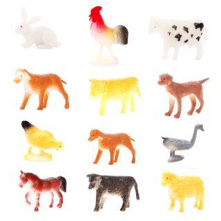 Набор домашних животных Farm animal, 4-8см, 12шт.