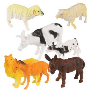 Набор домашних животных Farm animal, 9-16см, 7шт.