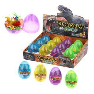 Набор динозавров с аксесс. в яйце, 9 предм., в ассорт., дисплей