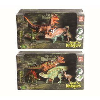 Набор динозавров, 4 фигурки, в асс., кор.
