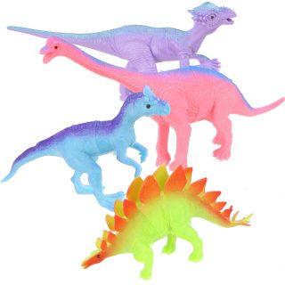 Набор фигурок Динозавры, 4шт., пакет, в ассортименте