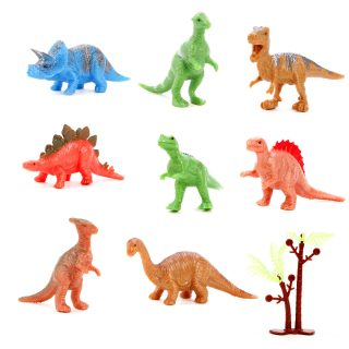 Набор фигурок Динозавры, 8шт., пакет