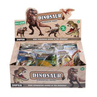 Фигурка динозавра с карточкой, в ассорт., дисплей