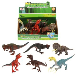 Фигурка Динозавра, 6 шт., дисплей