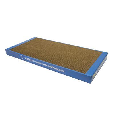 Когтеточка-лежанка Yami-Yami картонная для кошек 56х30см