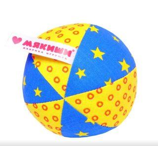 Игрушка мяч с погремушкой Малыш в асс-те
