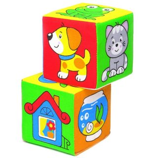 Мякиши кубики Чей домик