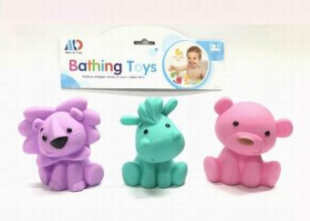 Набор виниловых игрушек для купания Друзья, 3 шт, пакет