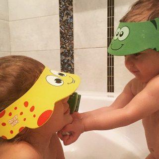 Козырек защитный для мытья головы (Желтый)