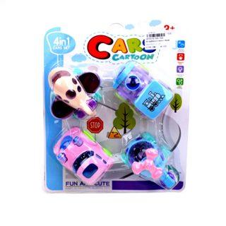 Набор инерционных игрушек, 4 шт., в ассорт., блистер