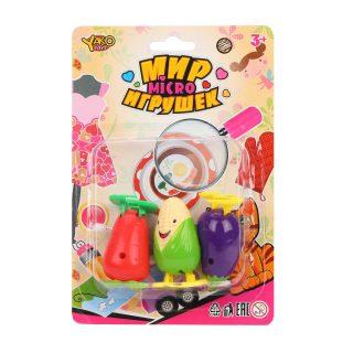 Набор заводных игрушек 3 шт.
