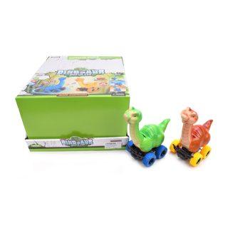 Динозавр инерц., в ассорт., дисплей
