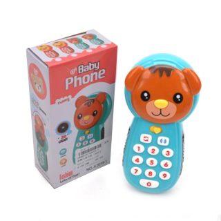 Мобильный телефончик, экран открывается, 3D-свет, звук, регулировка громкости, эл.пит. АА*2 не вх.в компл., кор.