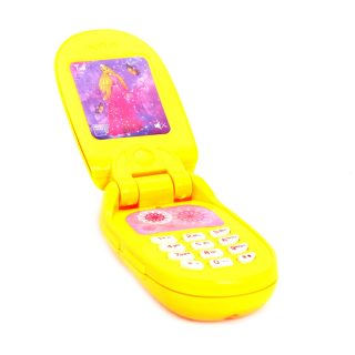 Телефон Привет, подружка! Озвучено на русск.языке, в  ассорт., батарейки входят в компл.