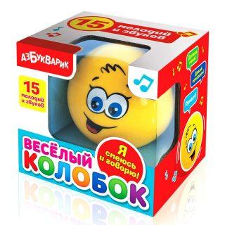 Музыкальная игрушка Веселый колобок в асс-те